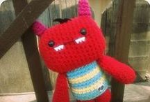 Free Monster Crochet Patterns / Make your own Monster  with one of these free patterns by a variety of designers! Just click on the picture to get to the pattern :) / by Sharon Ojala
