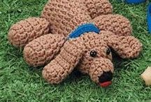 Free Dog Crochet Patterns / Make Your Own Fox or Puppy Dog With A Free Pattern found here by a variety of designers! Click on the pictures to get to the pattern :) / by Sharon Ojala