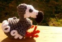 Free Bird Crochet Patterns / Make Your Own Bird With A Free Pattern found here by a variety of designers! Click on the pictures to get to the pattern. Also look for the OWL board / by Sharon Ojala