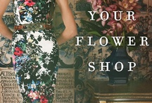 Pretty Petals  / Anthropologie #flower shop / by JoAnne Augh