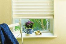 Wood Blinds / Wood blinds are a traditional choice but they suit many different decor styles.  The natural warmth of wood blinds is the perfect finishing touch to bring into your home for style and functionality.