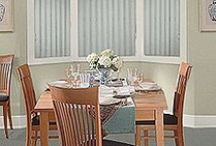 Vertical Blinds / Discount Vertical Blinds and sliding window panels are always an affordable option for covering large windows or sliding glass doors.