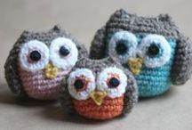 Free Owl Crochet Patterns / by Sharon Ojala