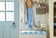 Come On In - Entryways / An entryway is the first thing people see when they come into your home, and the last thing they see when they leave. Wow them from beginning to end with the entryway decor ideas.