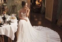 Weddings ~ Bridal Gowns / Wedding gowns in every shape, color & style you can think of!