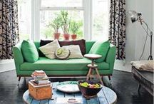 Accent Colors / Accent colors are very popular in home design. Use window treatments, blinds, shades, and drapery to liven up a room with a splash of color.