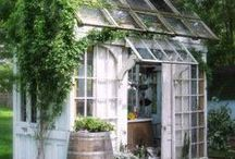 Shabby Chic Office Shed Ideas! / by Alyssabeths Vintage