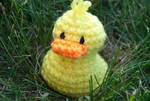 Free Duck Crochet Patterns / by Sharon Ojala