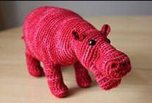 Free Hippo Crochet Patterns / by Sharon Ojala
