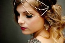 Weddings ~ Accessories Galore / Makeup & Hair ~ Headpieces, Veils & Capes ~ Heels & Jewelry