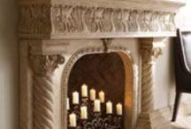 Mantles & Fireplaces / by Ciara Owen