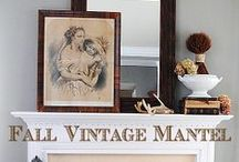 Mantel Decor Ideas / by Alyssabeths Vintage
