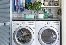 Laundry / update inspiration for my teeny-tiny laundry room
