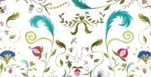 Patterns and Prints / Great pattern inspiration for fabrics, furnishings, wallpaper, and more!