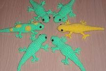 Free Lizard Crochet Patterns / by Sharon Ojala