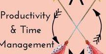 Productivity & Time Management / Please ONLY PIN content that is or directly related to PRODUCTIVITY & TIME MANAGEMENT. If you repeatedly pin about topics that are non-related, you will kindly be removed. To PIN with us, please FOLLOW THIS ACCOUNT, then email lauren@alegriasmuse.com w/PIN REQUEST in the subject line or go to http://alegriasmuse.com/pinterest-group-boards & follow the instructions. Please DON'T REPEAT the SAME PINS per 2 days & NO CONSECUTIVE pins from one person. Thanks!