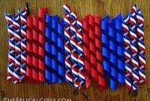 Cute ribbon crafts