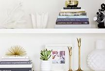 BEAUTIFUL BOOKS / Whether you love to read or simply enjoy the look of books, you're sure to find inspiration in the arrangements below.