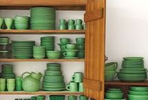 LUCK OF THE IRISH / With St. Patty's Day right around the corner, we are loving Kelly Green in home decor and so much more!