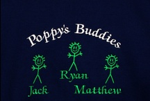 Grandpa Sweatshirts / Beautiful custom embroidered sweatshirts are available in five colors and sizes small through 5XL. We can personalize these shirts with all the grand children's names or anything else you can dream.  www.AGiftToTreasure.com
