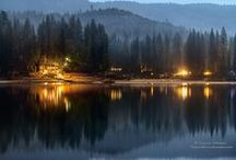 Bass Lake, California - Vacation Destination / Located just a handful of miles from the southern entrance of Yosemite National Park in Madera County, Bass Lake has been named on of the West's Best Lakes by Sunset Magazine - Year Round Vacation Destination.