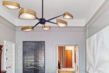 """STYLISH STATEMENT LIGHTING / Statement light fixtures can shake up an entire room. They are capable to serve as focal points or even """"artwork"""" and they can dictate the entire personality of a space."""