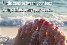 Toes In the water, Toes in the sand