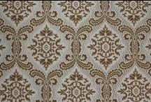 Vintage Damask Wallpaper / Vintage wallpapers from Rosie's Vintage Wallpaper collection.
