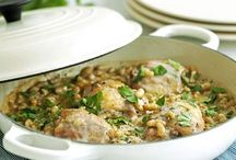 Prepare ahead recipes / Recipes that can be prepared ahead or are simple to do for friends and guests...