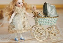 Dolls, antique dolls, mignonette dolls and pattern. / Lovely dolls  / by Anna Djo