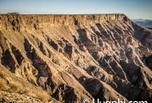 Fish River Canyon, Namibia / The famed Fish River Canyon in Namibia, the worlds second largest canyon