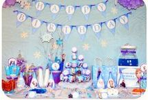 Frozen Birthday Party Ideas / Almost every little girl I know wants a FROZEN birthday party! This board is for all things Frozen...we're pinning everything you could possibly need for an ultimate Frozen birthday party celebration, including ideas for party attire, decorations, favors, invitation examples, birthday cake decorating ideas, supplies, and more!