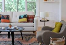 Mid century with a touch of boho