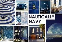 KKDL TRENDWATCH 2015: NAUTICALLY NAVY / Navy blue is the color of some of KKDL's favorite things-- denim jeans, a classic blue blazer, the lake of the pier and the ocean off of California. It is an inspiring color that we have always been drawn to. / by Kerrie Kelly Design Lab