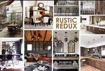 KKDL TRENDWATCH 2015: RUSTIC REDUX / More refined that re-purposed or reclaimed looks for the past few years, this look is sleek, simple and clean using sustainable materials with personality and a certain patina, too. / by Kerrie Kelly Design Lab