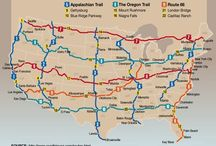 Road trips and destinations across the U.S. and Canada