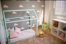 """""""O quarto da Catarina"""" / Quarto montessoriano; montessori; montessori room; baby girl"""
