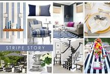 KKDL TRENDWATCH 2017: STRIPE STORY / At Kerrie Kelly Design Lab, we use stripes as a neutral, anchoring a space with clean lines and bold colors. Fast forward to 2017 and we see the stripe being used as a statement all its own. With a bold brushstroke down the middle of a wingback chair, or as a reimagined wallpaper pattern, the single stripe is the new must-know print. / by Kerrie Kelly Design Lab