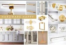 KKDL TRENDWATCH 2017: HARDWARE HAPPY / Keeping the lens  on design details, Hardware Happy shifts the focus to the fastenings of some of our most beloved furniture pieces. Adorning dressers and cabinets alike, contemporary hardware is the new way to make a subtle splash. Choosing thoughtful hardware for your home lends a sophisticated and polished touch, no matter your personal style. / by Kerrie Kelly Design Lab