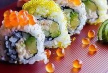Sushi per tutti, grazie! / Se in Paradiso esistesse la mensa, questo sarebbe il menù. #Japanesefood