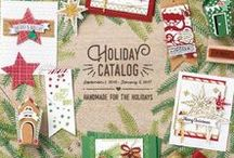 Stampin' Up! 2016 Holiday Catalog / stamping, rubber stamps, handmade cards, home decor, memory keeping, scrapbooking, christmas