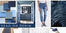 KKDL TRENDWATCH 2017: DEAD-ON DENIM / Everyone loves a great pair of jeans, right? Dead-On Denim is all about channeling classic indigo hues, mimicking that perfectly worn-in denim look and feel of our favorite pair of Levi 501s.