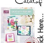 Stampin' Up! 2017-2018 Catalog / Craft ideas using Stampin' Up! products,stamping, rubber stamps, handmade cards, home decor, memory keeping, scrapbooking, goodie bags, gift card holders