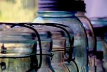 I Love Mason Jars and Bottles! / by Jeana Green