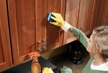 CLEANING IDEAS FOR THE HOME / by Carol Seiler Kalar