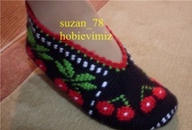 Crochet: slippers & shoes / by Ana Evamarc