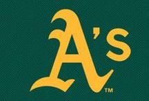 Oakland A's / Oakland Athletic's Baseball Club / by Bob Steele