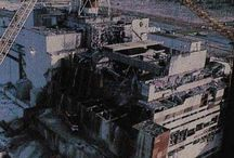 Chernobyl / The nuclear plant accident at Chernobyl, Ukraine (and Pripyat) April 26, 1986. / by Bob Steele