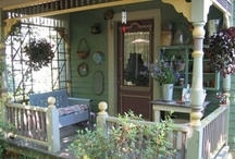 The Front  Porch Swing / Beautiful porch ideas / by Beth Fava
