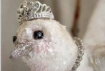 All That Glitters.... / Pretty glittered decorative items and jewelry / by Beth Fava